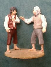 LOTR Collectors Models #127 Bilbo & Frodo at Rivendell ULTRA RARE
