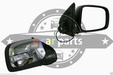 HOLDEN RODEO RA 3/03-9/08 R/H DOOR MIRROR CHROME & BLACK ELECTRIC LED INDICATOR