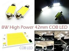 High Power  COB LED 42mm Festoon 211-2 578 212-2 Bulb Interior Dome Map Light 8W