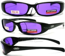 Global Vision New Attitude Purple Sunglasses Motorcycle Black Spring Temples