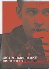 Justin Timberlake - Justified: The Videos (DVD, 2013) VG#