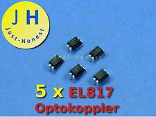 Stk. 5 x EL 817 Optokoppler / Optocoupler #A246