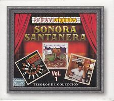 Sonora Santanera Vol 1 Tesoros de Coleccion 3CD New Nuevo sealed