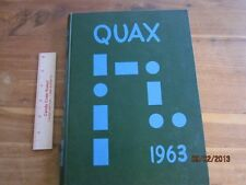 1963 Drake University Des Moines Iowa Quax Yearbook Annual