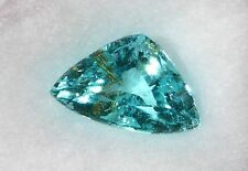 2.27 CARATS NATURAL PARAIBA TOURMALINE - BRIGHT NEON BLUE GREEN COLOR