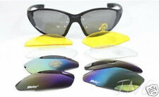 4 Lens Daisy C4 Biking,Driving, Running Outdoor Sport Multi-Use Sunglasses