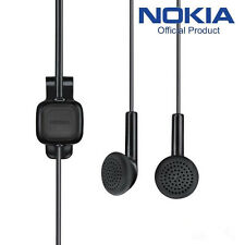 NOKIA HEADSET WH-102 GENUINE NEW 100% ORIGINAL NOKIA 3.5MM JACK BLACK HEADPHONE