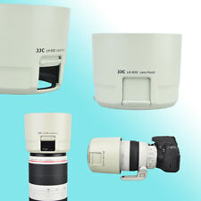 White ET-83D Lens Hood Canon EF 100-400mm f/4.5-5.6L IS II USM 77mm Window JJC