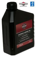 savers choice. GENUINE Briggs & Stratton SAE30 Mower OIL 100006E 4016153100067#