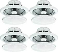 "4X 5"" 80W MOISTURE RESISTANT CEILING SPEAKERS FOR BATHROOM OR KITCHEN B402 B"