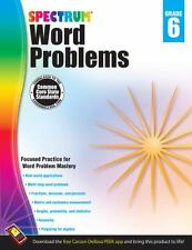 Word Problems, Grade 6 (2013, Paperback)