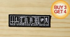 TAAKE TNBM PATCH,BUY3 GET4,ULVER,1BURZUM,MAYHEM,GORGOROTH,IMMORTAL,BLACK METAL