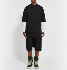Rick owens oversized moody F/W 2014 Cotton-Jersey t-shirt m Medium New Mens