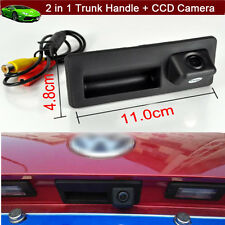 Car Trunk Handle + CCD Rear View Reverse Camera Parking for VW Passat 2011-2016