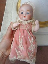 Antike Baby Puppe R 127 A geschlossener Mund Puppe c1920 baby doll closed mouth