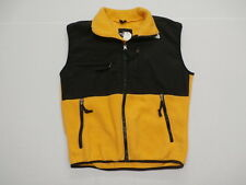 The North Face Men's Denali Fleece Vest Yellow/Black Size Small