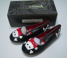 NWT Funtasma Halloween Punk Skull and Crossbones Pirate Girl Costume Shoes 11/12