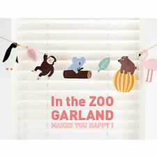 In the Zoo garland / Korean new fancy gifts / jamstudio garland, decoration