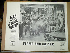 "MAN WITH THE STEEL WHIP Chap 6 ""Flame and Battle"", 1954 LC (poker chips on table"