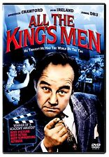 BRAND NEW CLASSIC DVD All the King's Men //Broderick Crawford,WON3ACADEMY AWARDS