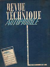 RTA revue technique automobile N°157 RENAULT 1000 KG 1400 KG moteur FREGATE