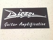 GUITAR AMPLIFIERS STICKER ACOUSTIC ELECTRIC MUSIC CYMBALS DRUMS SPEAKERS DIEZEL