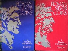 2 cataloghi Roman silver coins