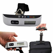 50kg/10g Portable LCD Digital Hanging Luggage Scale Travel Electronic Weight+GF