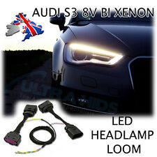 AUDI A3 8V BI XENON HEADLIGHT - ADAPTER WIRING HARNESS FACELIFT RETROFIT