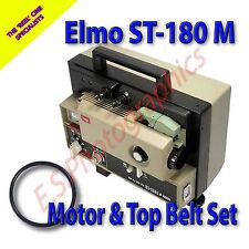ELMO ST-180 M Super 8mm Sound Cine Projector Belts Set of 2