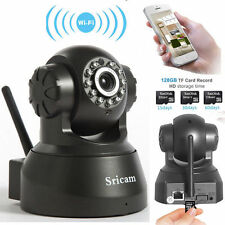 Sricam P2P Wireless IP Camera WiFi Surveillance System Night vision IR Webcam