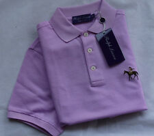 "RALPH LAUREN PURPLE LABEL   Polohemd MADE IN ITALY ""LIGHT PINK"" Gr XL"