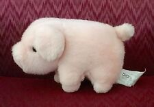 "9"" DARLING IKEA SMALL PINK PIG BABY LOVEY PLUSH STUFFED ANIMAL FIGURE SOFT TOY"