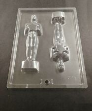 AWARD STATUE EMMY OSCARS 2 CHOCOLATE RARE MOLD COOKIE CANDY LOWEST PRICE ON EBAY