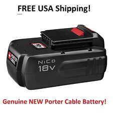 Porter Cable PC18B High Output 18V Nicad No Memory Battery 1.5aH GENUINE New!