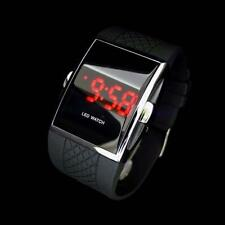 LED Cheap Luxury Men's LED Digital Sports Quartz Waterproof Wrist Watch Black HQ