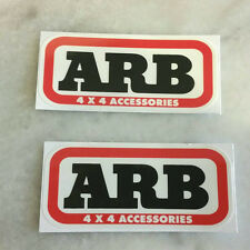 NEW 2X ARB Old Man EMU Sticker Truck Off-road 4WD Jeep Toyota Ford Decals Car