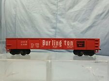 Vintage HO Scale AHM 40' Burlington Route Gondola Car #CB&Q E 3166