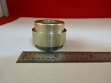 MICROSCOPE PART MOUNTED LENS OPTICS AS IS #AN-23