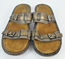 NOAT Brown Leather Women's Sandals Size 10