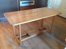 Vintage Arts + Crafts Mission  Oak coffee Accent Table Console Entryway Hall