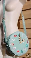 DISNEY DANIELLE NICOLE ALICE in Wonderland TEA TIME CROSSBODY Bag Purse~NWT