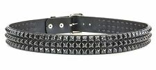 Black Studded Leather Belt Punk, Metal,Thrash, Sid Vicious UK Style, Band Rock
