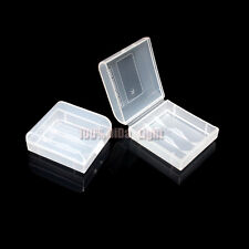 5pcs White Plastic Battery Case/Box For 2x CR123A 16340 Rechargeable Battery