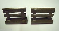 PLAYMOBIL 2 X WOODEN RAILING FENCE SET 6936 4826