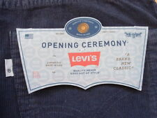 2009 Rare Levis x Opening Ceremony 505 Corduroy Pants Size 31 Made in USA Navy