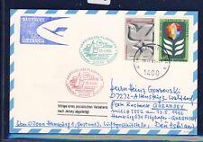 51932) LH FF Hamburg - Guernsey 23.5.92, Karte ab UNO Wien