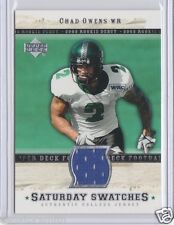 Hamilton Tiger-Cats Chad Owens pre CFL 2005 Upper Deck Rookie Debut Jersey