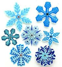 Jolee's SNOWFLAKE FLURRY Stickers WINTER SNOW CHRISTMAS