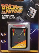 BACK TO THE FUTURE FLUX CAPACITOR LIGHT UP USB IPHONE PHONE ANDROID CAR CHARGER